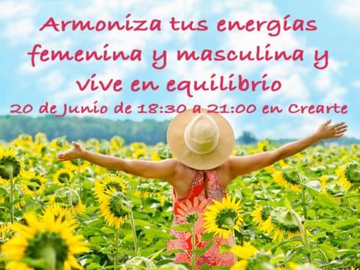 Armoniza tus energías femenina y masculina y vive en equilibrio