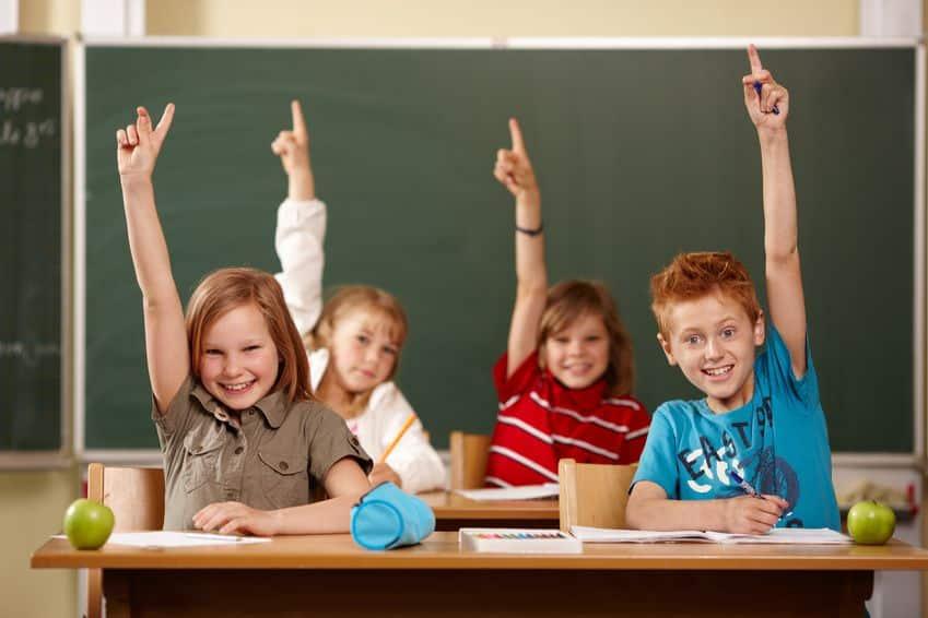 Alumnos en la clase