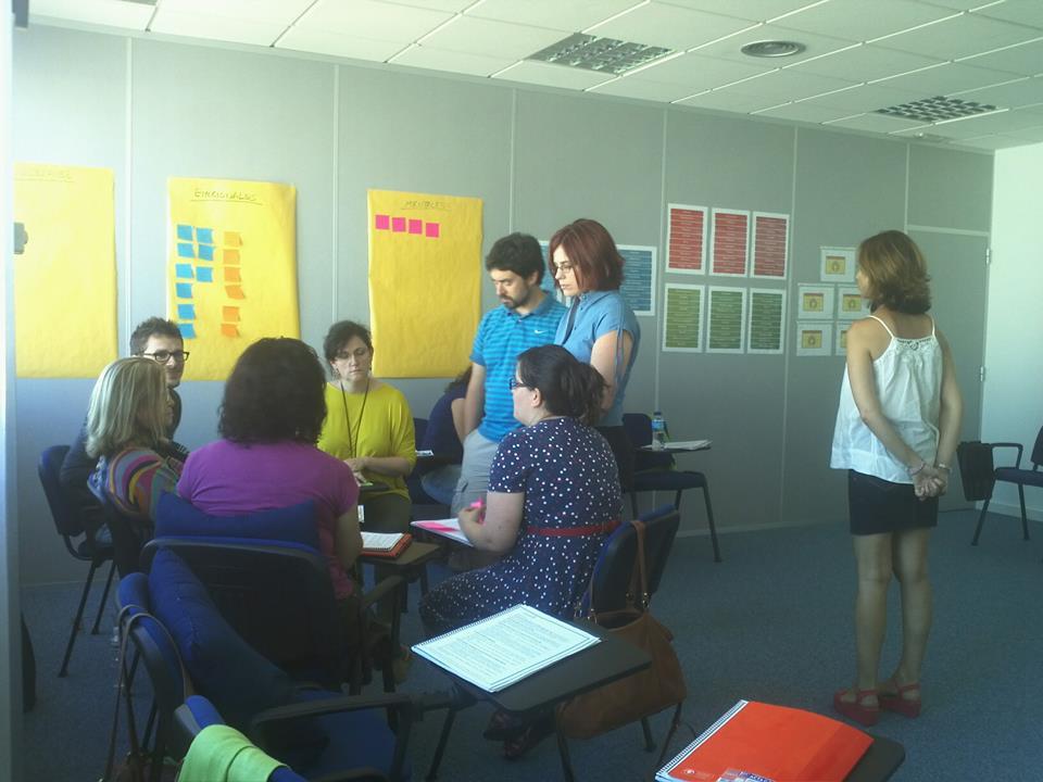 En el taller de Eneagrama